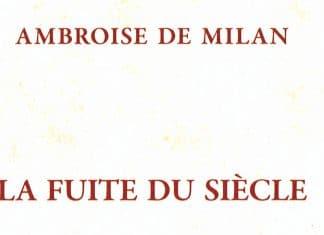 Recension: Ambroise de Milan, « La fuite du siècle »