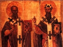 Sants Athanase et Cyrille - orthodoxie.com