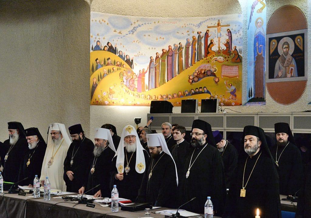 Règlement d'organisation et de fonctionnement du saint et grand Concile de l'Église orthodoxe