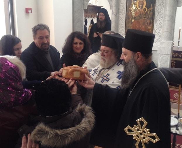Commémoration à Zagreb du hiéromartyr Dosithée, premier métropolite orthodoxe de cette ville et confesseur