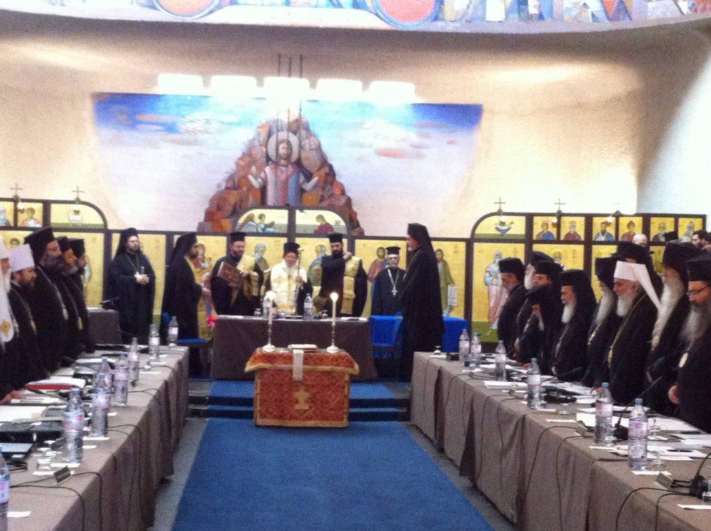 Début des travaux de la synaxe des primats des Églises orthodoxes à Genève-Chambésy