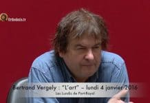 Bertrand Vergely : « L'art »