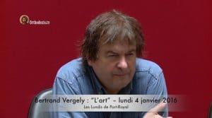Bertrand Vergely : « L'art »