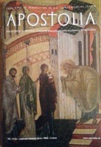"""Parution du n°94-95 (janvier-février 2016) de la revue """"Apostolia"""""""