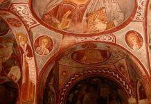 Une très ancienne église a été découverte en Cappadoce