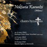 «Mystères du chant byzantin» avec Nektaria Karantzi, soliste d'Athènes
