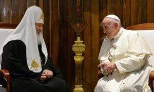 Vidéos de la rencontre du patriarche Cyrille et du pape François à Cuba (12 février)