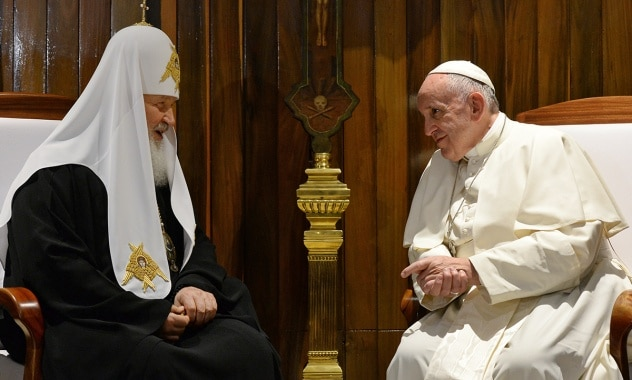 Déclaration commune  du pape François  et du patriarche Cyrille de Moscou et de toute la Russie
