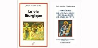 Présentation ce samedi 5 mars à la librairie L'Age d'Homme par Jean-Claude Larchet de son livre «La vie liturgique» et des «Homélies sur les évangiles des dimanches et jours de fête» de saint Nicolas Vélimirovitch