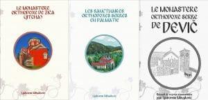 Présentation ce samedi 26 mars à la librairie L'Age d'Homme par Lioubomir Mihailovitch de plusieurs de ses livres consacrés à des monastères serbes