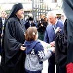 Le prince Charles a visité la cathédrale Saint-Georges à Prizren, au Kosovo