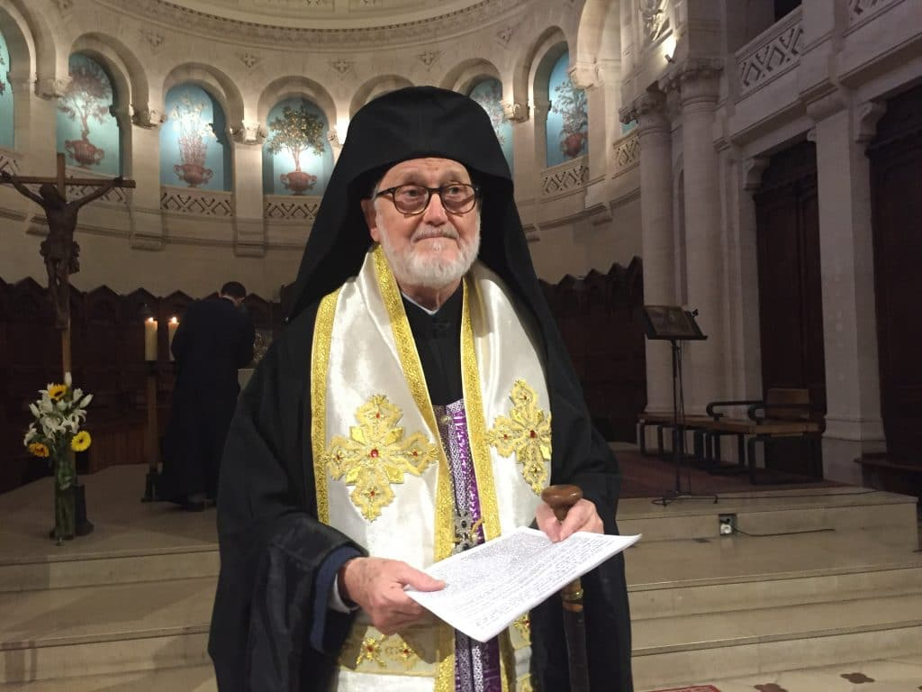 Mgr Jean élu candidat à l'élection  canonique de l'archevêque de l'Archevêché des églises orthodoxes russes en Europe occidentale