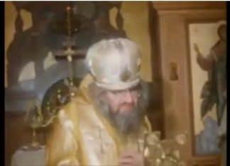 Un film d'archives sur l'église de Sea Cliff (États-Unis) avec saint Jean de Changhaï et d'autres hiérarques de l'Église orthodoxe russe hors-frontières