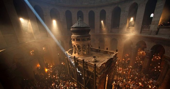 Le «Kouvouklion» du Saint-Sépulcre à Jérusalem sera prochainement restauré