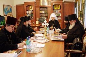 Message du Synode de l'Église orthodoxe de Moldavie au sujet des clercs «non-commémorants» du diocèse métropolitain de Chișinău et de Moldavie