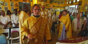 Vidéo: l'entretien de Mgr Nestor de Chersonèse à la télévision martiniquaise