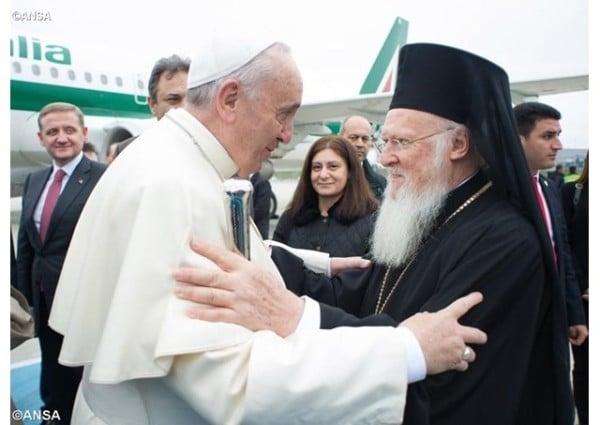 Le regard du pape François sur le Concile panorthodoxe
