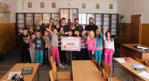 «Inauguration de la bibliothèque chrétienne de l'école de Gračanica» (Kosovo)