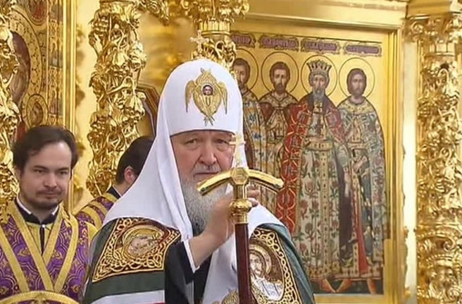 Le patriarche de Moscou Cyrille s'est étonné de l'absence de réaction de la communauté internationale aux actes de violence commis contre l'Église en Ukraine