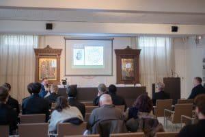 Les enregistrements vidéo des exposés en français au colloque du Séminaire orthodoxe russe en France sur la philosophie des sciences