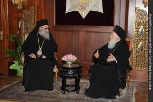 Le patriarche œcuménique Bartholomée invite le patriarche d'Antioche à venir au Phanar pour régler son différend sur la juridiction du Qatar