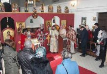 Le métropolite Joseph à Caen pour les dix ans de la paroisse Saint-André et Sainte-Alexandra