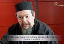Entretien avec le père Alexandre Winogradsky Frenkel à Paris le 18 avril