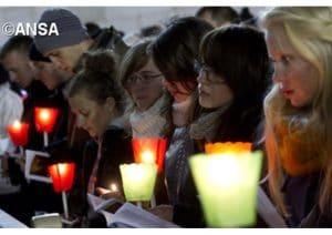 Taizé en pèlerinage à Bucarest pour la fête de Pâques orthodoxe
