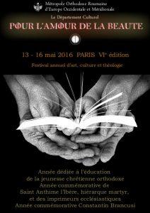 Le festival «Pour l'amour de la beauté», du 13 au 16 mai à Paris