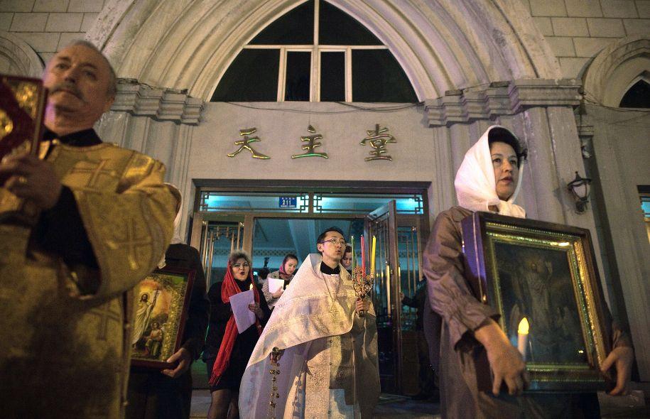 Les chrétiens orthodoxes de Chine célèbrent Pâques