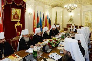 Liste des participants de l'Église orthodoxe russe au Concile panorthodoxe