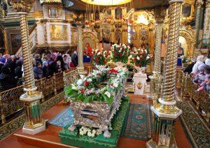 Des milliers de fidèles se sont rendus à la laure de Potchaïev (Ukraine) pour la fête de saint Job