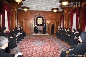 L'archevêque de Prešov, des Terres tchèques et de Slovaquie Rastislav a rendu visite au patriarche œcuménique Bartholomée