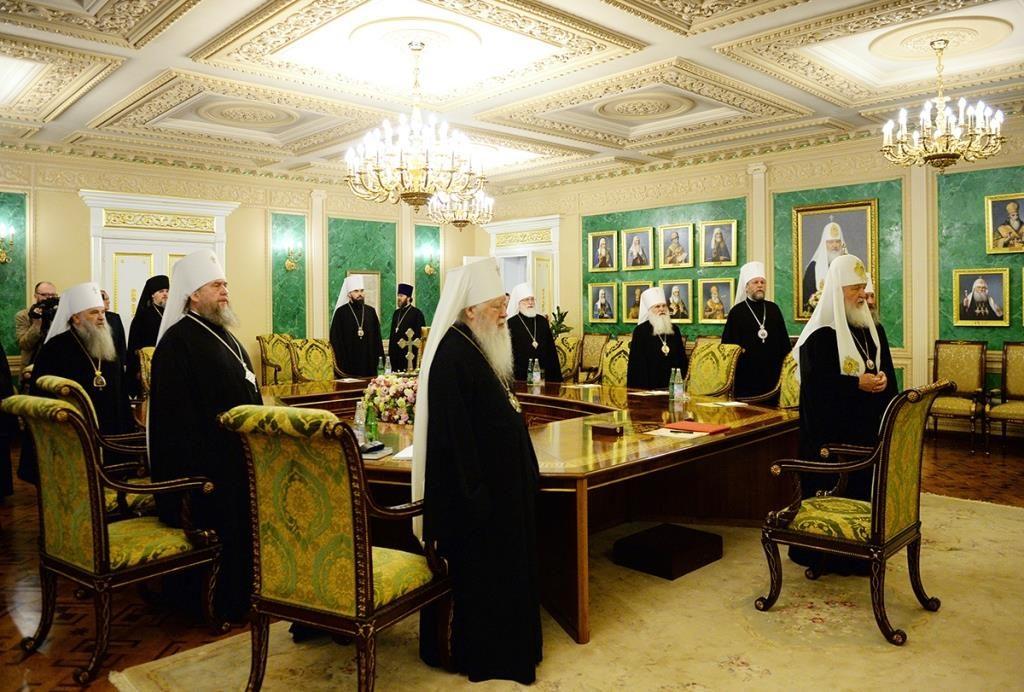 Le Saint-Synode de l'Église orthodoxe russe demande au patriarche Bartholomée de convoquer une réunion préconcilaire panorthodoxe extraordinaire