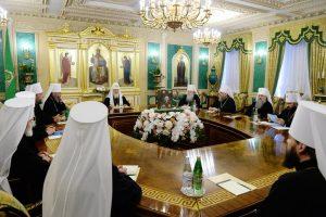 Déclaration de l'Eglise orthodoxe russe qui demande le report du Concile panorthodoxe et annonce sa non-participation au concile prévu en Crète