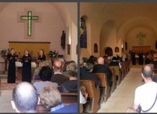 Compte-rendu des deux concerts donnés par le choeur Saint-Siméon samedi dernier