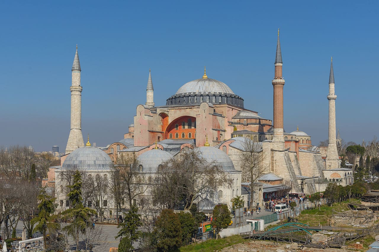 """Hagia Sophia can be turned into a mosque"""
