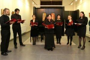 Un concert du choeur Saint-Siméon à Vézelay le 18 juin