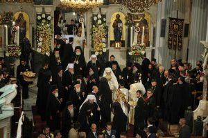 Le Concile ne discutera pas du message du parlement ukrainien au patriarche Bartholomée