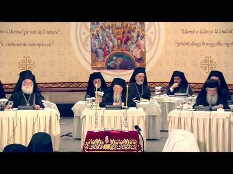 Encyclique du saint et grand Concile du 26 juin 2016