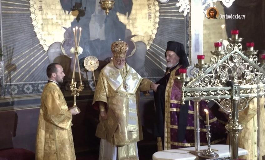 Vidéo de l'intronisation de Mgr Jean de Charioupolis, archevêque de l'archevêché des paroisses orthodoxes de tradition russe en Europe occidentale