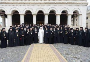Composition de la délégation de l'Église orthodoxe roumaine au saint et grand Concile