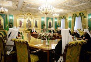 Le 13 juin prochain, une session extraordinaire du Saint-Synode de l'Eglise orthodoxe russe sera consacrée à la situation d'urgence avec le Concile panorthodoxe