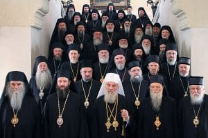 Message de l'Assemblée des évêques de l'Église orthodoxe serbe au sujet du saint et grand Concile, à tous les primats et saints-synodes des Églises orthodoxes locales