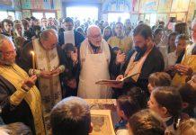 L'archevêque Jean a présidé la dédicace de l'église du camp de la Servagère (Acer-Mjo)