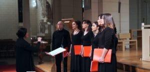 Vidéo du concert de l'ensemble Harmonie géorgienne