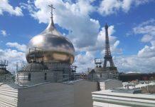 «Double peau pour l'église orthodoxe russe à Paris»
