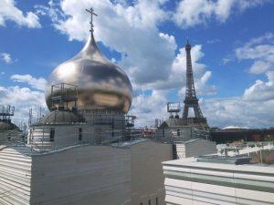 La nouvelle cathédrale orthodoxe russe à Paris est aussi une prouesse technologique