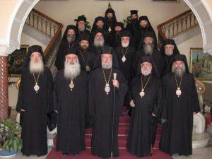 Session extraordinaire du Saint-Synode de l'Église de Chypre au sujet des décisions du Concile de Crète