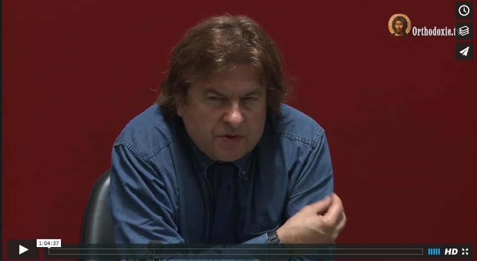 "Vidéo de la conférence de Bertrand Vergely : ""La beauté"" –13 juin 2016"